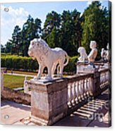 The Statues Of Archangelskoe Estate. Russia Acrylic Print