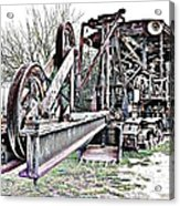 The Steam Shovel Acrylic Print