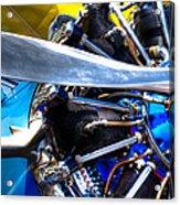 The Stearman Jacobs Aircraft Engine Acrylic Print