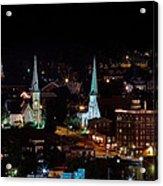 The Steeple City Acrylic Print