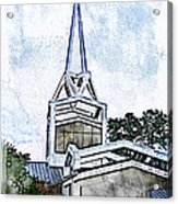 The Steeple Acrylic Print