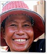 The Sticky Rice Lady Acrylic Print