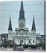 The St.louis Cathedral Acrylic Print