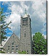 The Stone Church Acrylic Print