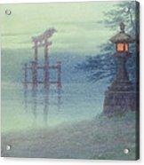 The Stone Lantern Cira 1880 Acrylic Print