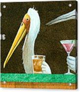 The Stork Club... Acrylic Print