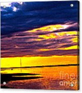 The Storm  Acrylic Print by Q's House of Art ArtandFinePhotography