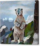 The Story Of The White Bear Acrylic Print