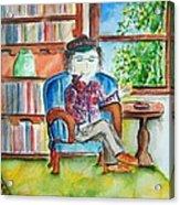 The Storyteller Acrylic Print