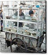 The Street Vendor Acrylic Print