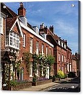 The Streets Of Winchester England Acrylic Print