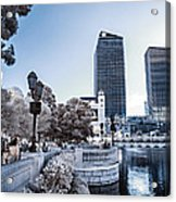 The Strip In Infrared Acrylic Print