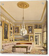 The Striped Drawing Room, Apsley House Acrylic Print