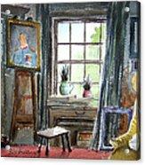 The Studio Of Juliet Pannett Acrylic Print