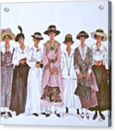 The Suffragettes Acrylic Print