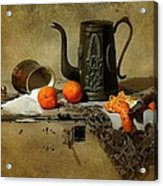 The Sugar Bowl Acrylic Print by Diana Angstadt