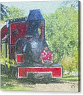 The Sugar Train Acrylic Print