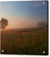The Summer Field Acrylic Print