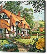 The Summer Thatchers Acrylic Print