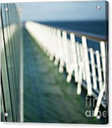 The Sun Deck Acrylic Print by Anne Gilbert