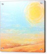 The Sun Acrylic Print
