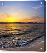 The Sun Rises Over The Red Sea In Egypt Acrylic Print