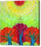 The Sun Three Acrylic Print