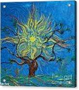 The Sun Tree Acrylic Print