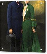 The Sundance Kid Harry Longabaugh And Etta Place 20130515 Acrylic Print