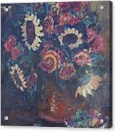 The Sunflower Bouquet Acrylic Print