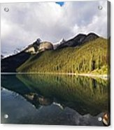 The Sunny Side Of Lake Louise Acrylic Print
