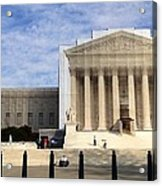 The Supreme Court Facade  Acrylic Print
