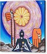 The Supreme Power Of Chakras Acrylic Print