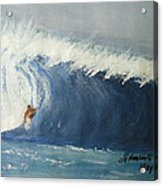The Surfing Acrylic Print