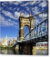 The Suspension Bridge Acrylic Print