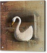 The Swan Planter Acrylic Print