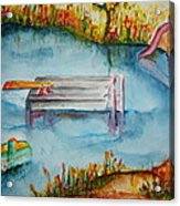 The Swimming Hole Acrylic Print