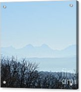 The Swiss Alps Panorama  2 Acrylic Print