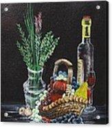 The Table Acrylic Print
