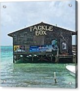 The Tackle Box Sign Acrylic Print