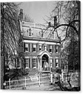 The Taft House - Brown University 1958 Acrylic Print