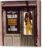 The Tailor Acrylic Print