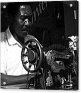 The Tailor - Tanzania Acrylic Print