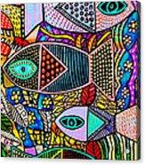 The Talavera Sea Acrylic Print