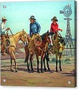 The Tale Spinner Acrylic Print by Randy Follis