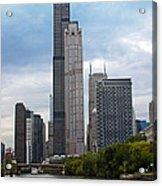 The Tall Buildings Acrylic Print