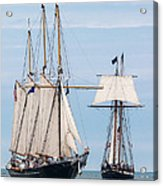 The Tall Ships Acrylic Print