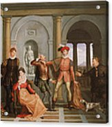 The Taming Of The Shrew Acrylic Print