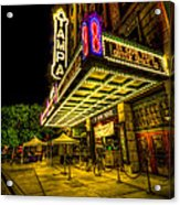 The Tampa Theater Acrylic Print