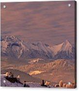 The Tatra Mountains Acrylic Print